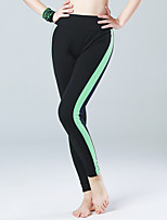 Pantalon de yoga Collants Haute respirable (>15,001g) Compression Matériaux Légers Confortable Push Up Taille moyenne ExtensibleVêtements