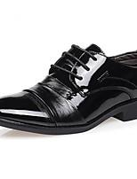 Men's Sneakers Spring Comfort PU Casual Black