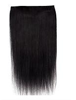 18inch одна часть 5 зажим в выдвижении человеческих волос 100% remy handmade