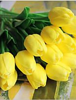 5 Ramo Toque real Tulipas Flor de Mesa Flores artificiais