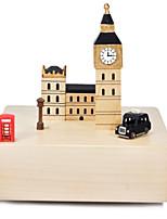 Spieluhr Quadratisch Freizeit Hobbys Holz keine Angaben