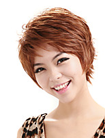 Short Curly Wig Brown Natural Wigs Wigs for Women Costume Wigs Cosplay Wigs