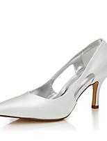 Damen-Hochzeit Schuhe-Hochzeit Outddor Büro Kleid Party & Festivität-Seide-Stöckelabsatz-Komfort Club-Schuhe einfärbbar Schuhe-