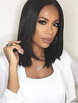 8A Straight Short Bob Wigs For Women Natural Hairline Lace Front Wig Glueless Full Lace Wigs With Large Stocks