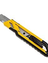 Stanley self lock двухцветная ручка художник-нож 18 мм (3 лезвия) / 1 ручка