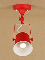 Montage du flux ,  Rétro Rustique Peintures Fonctionnalité for LED Style mini Designers MétalSalle de séjour Salle à manger Bureau/Bureau
