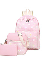 Kids Canvas Sports Casual Backpack All Seasons