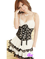 Outfits Sweet Lolita Princess Cosplay Lolita Dress Solid Short Sleeve Short / Mini For