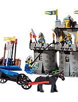 Building Blocks Educational Toy For Gift  Building Blocks Leisure Hobby Warrior Architecture ABS 5 to 7 Years 8 to 13 Years 14 Years & Up