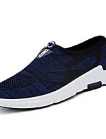 Men's Sneakers Fall Comfort PU Outdoor Flat Heel