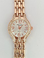 Women's Women Bracelet Watch Quartz Alloy Band Casual White