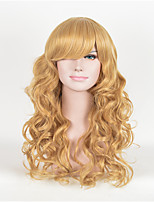 A Cinderella Story Golden Style Cosplay HighTemperature Silk Wig