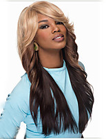 Europe and the United States Long Curly Wig Female Hair Become Warped Big Waves Gradient Hair Wigs Synthetic