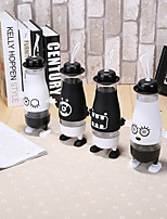 Qute Big Belly Bottle With Feet Penguin Glass Bottle (Random Type)