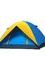 1 Pessoa Duplo Um Quarto Barraca de acampamentoEquitação-Amarelo Azul
