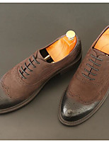 Men's Sneakers Spring Comfort Pigskin Nappa Leather Casual