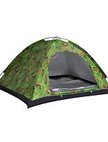 3-4 Pessoas Tenda Duplo Tenda Dobrada Um Quarto Barraca de acampamento 1000-1500 mm Fibra de Vidro Oxford Poliéster TafetáÁ Prova de
