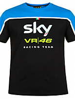 Moto summer VR46  racing sues short t motorcycle leisure quick-drying short T locomotive ride fast-drying mesh
