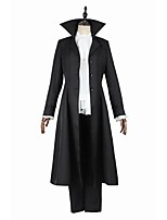 Inspired by Bungo Stray Dogs Tanaka Ryunosuke Anime Cosplay Costumes Cosplay Suits Fashion Long Sleeve Coat Top Pants For Male Female