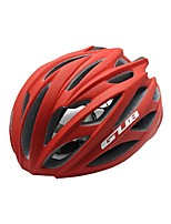 Sports Unisex Bike Helmet 26 Vents Cycling Cycling PC EPS Red and Built-in 3D Keel