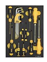 Stanl metrische Befestigung Handwerkzeuge 19 Stück lt-029-23 Inbusschlüssel Schraubendreher