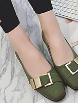 Femme-Décontracté-Blanc Noir VertSemelles Légères-Mocassins et Chaussons+D6148-Polyuréthane