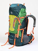 75 L sac à dos Sac à Dos de Randonnée Multifonctionnel Vert de Trèfle