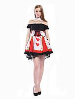 Costumes de Cosplay Costume de Soirée Bal Masqué Sorcier/Sorcière Princesse Reine Cinderella Conte de Fée Cosplay de Film RobeHalloween