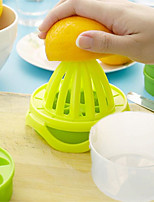 4Pcs/Set  Portable Multi-Function Manual Juicer Tools Lemon Orange Juicer With Double Ice Lattice