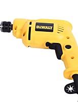 Dewei 6.5mm ручная дрель 380w высокая скорость обратимая скорость электрическая отвертка dwd010