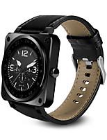 Monitor del ritmo cardíaco del bluetooth 4.0 reloj elegante del reloj de la voz del siri del wristband