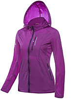 LEIBINDI® Women's Jacket Tops Hiking Fishing Breathable Quick Dry Windproof Ultraviolet Resistant Sunscreen Windproof Light Jacket