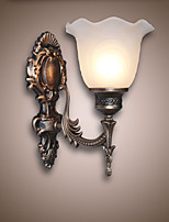 European Style Retro Wall Lamp Hotel Corridor Lamp  Corridor light Mirror Front lamp  Single Head  Bedside Lamp