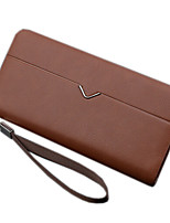 Men PU Polyester Formal Casual Outdoor Office & Career Shopping Wallet All Seasons