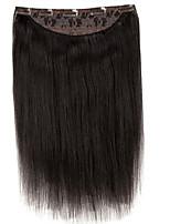 16 אינץ 'חתיכה אחת 5 קליפ 100% רמי שיער אנושי הארכה 120g עבודת יד