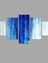 Tela de impressão Abstrato Estilo,5 Painéis Tela Qualquer Forma Impressão artística Decoração de Parede For Decoração para casa