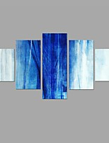 Leinwanddruck Abstrakt Stil,Fünf Panele Leinwand Jede Form Druck-Kunst Wand Dekoration For Haus Dekoration