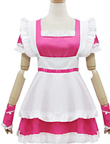 Outfits Classic/Traditional Lolita Lolita Cosplay Lolita Dress Solid Short Sleeve Short / Mini For