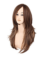 Hot Style in Europe and the United States Send Brown Gradient Ladies Fashion Wig 18inch