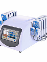 Portable 100mW Lipo Laser Weight Loss Machine With 14 Pads For Body Slimming