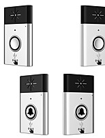 Wireless Voice intercom Doorbell Support Indoor and Outdoor Voice Intercom Up to   200ft Work Range Two Trasmitter and Two Receivers