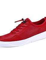 -Для мужчин-Для прогулок Повседневный Для занятий спортом-Полиуретан-На плоской подошве-Удобная обувь-Кеды