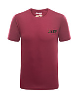 Men's Tops Fishing Backcountry Breathable Summer Rose Red Iron Grey