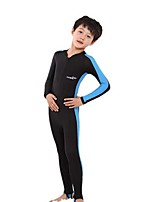 Kid's Full Wetsuit Breathable Quick Dry Anatomic Design Compression Chinlon Diving Suit Long Sleeve Diving Suits-Diving Spring Summer