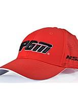 Um chapéu esportivo do golfe dos homens