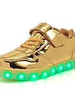 Kids Girls Boys' Athletic Shoes Summer Fall Light Up Shoes First Walkers Luminous Shoe PU Outdoor Athletic Casual Low Heel LED