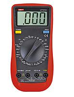 Amperímetro multitester uni-t ut151a gama manual moderna lcd multímetro digital ac / dc volt ampère ohm capacitância testador amperímetro