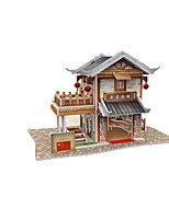 Jigsaw Puzzles 3D Puzzles Building Blocks DIY Toys Chinese Architecture 1 Paper Model & Building Toy