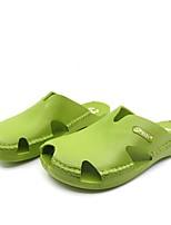 Herren-Slippers & Flip-Flops-Lässig-Gummi-Flacher Absatz-Fersenriemen-