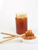 2Pc Wooden Honey Spoon Coffee Stir Bar Honey Dipper Stick For Honey Jar Long Handle Mixing Stick Stirring Rod
